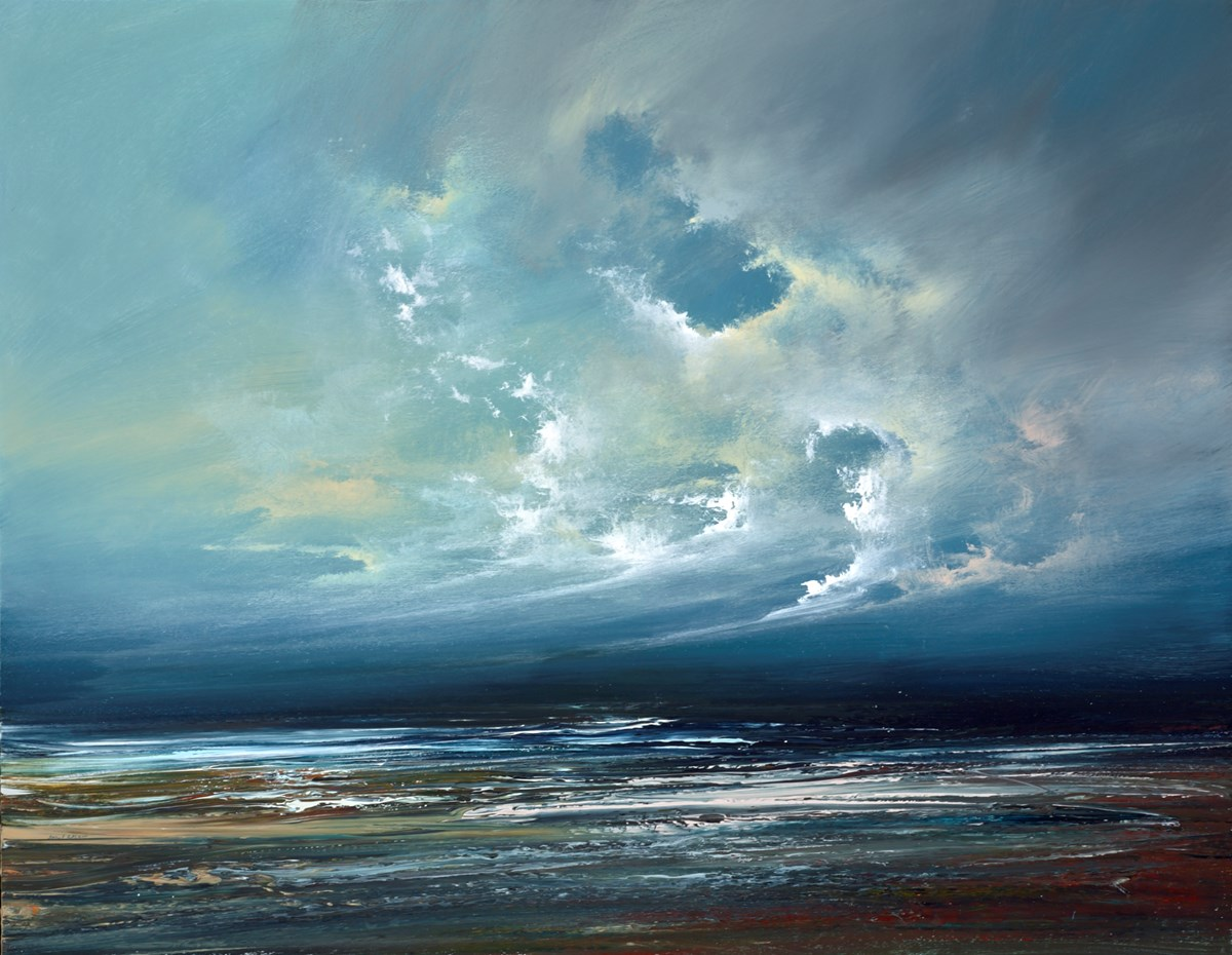 A Break in the Clouds II by philip raskin -  sized 36x28 inches. Available from Whitewall Galleries